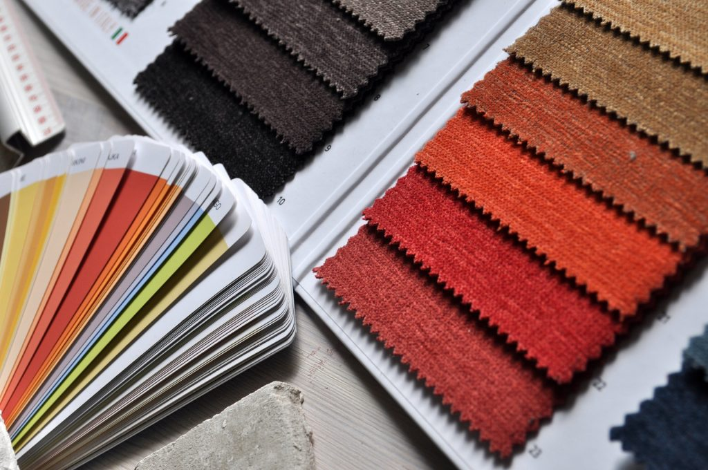 Colour Palette for interior painting